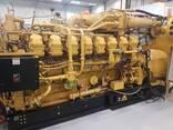 Б/У газовый двигатель Caterpillar 3520, 2014 г. ,2 Мвт - фото 6