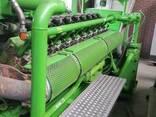 Б/У газовый двигатель Jenbacher J320 GS B05,1000 Квт,1996 г. - фото 6