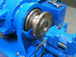 Equipment for the repair of industrial gas turbines