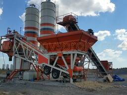 MVS 60MS 60m3/hour Mobile Concrete Batching Plant - photo 4
