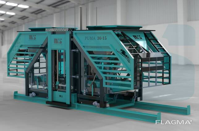 MVS3615 Concrete Block and Paverstone Making Machines