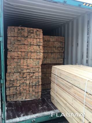 Sell, sawn timber (pine) 20-38х90х3000 - 4000(mm) 2-3 grade